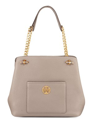 Tory Burch Chelsea Slouchy Leather Shoulder Tote Bag