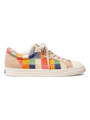 Tory Burch classic court patchwork leather sneakers