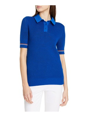 Tory Burch cotton polo sweater