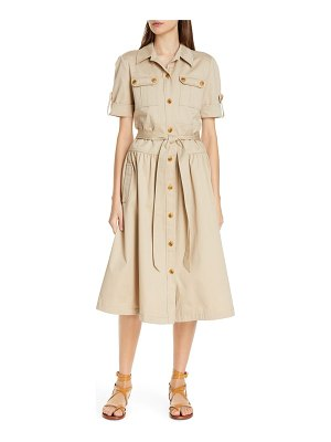 Tory Burch cotton safari dress