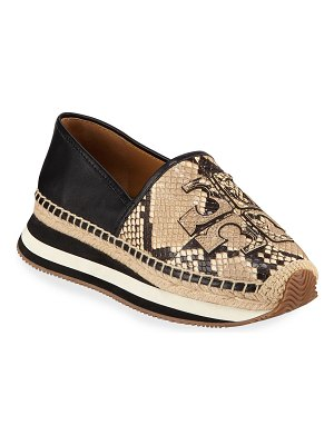 Tory Burch Daisy Logo Trainer Sneakers