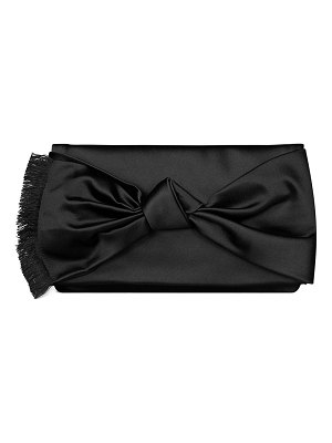 Tory Burch Eleanor Satin Bow Clutch Bag