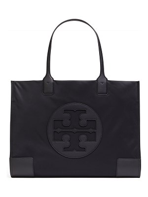 Tory Burch Ella Nylon Logo Tote Bag