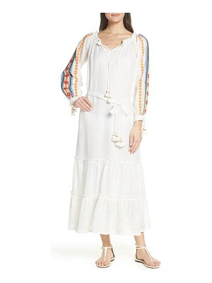 Tory Burch embroidered cover-up maxi dress
