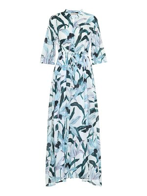 Tory Burch floral cotton-voile shirt dress
