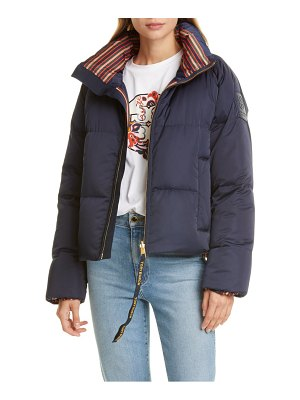 Tory Burch floral reversible puffer jacket