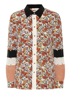 Tory Burch floral silk shirt