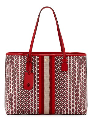 Tory Burch Gemini Coated Canvas Tote Bag
