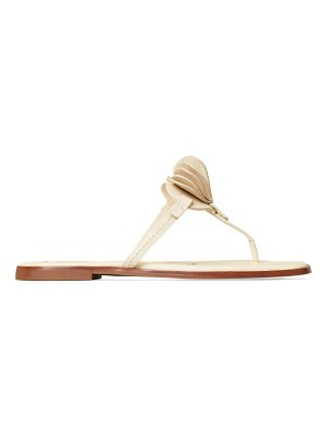 Tory Burch heart leather thong sandals