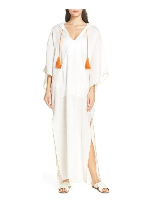 Tory Burch hooded cover-up caftan