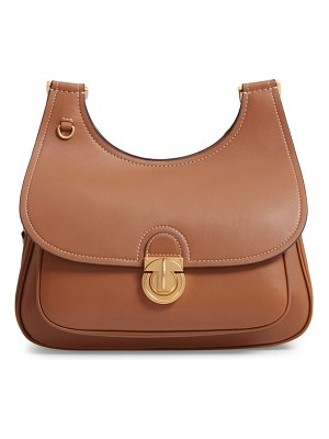 Tory Burch james leather saddle bag