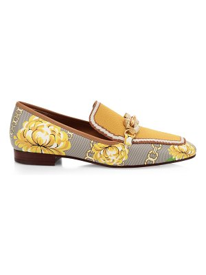 Tory Burch jessa printed loafers