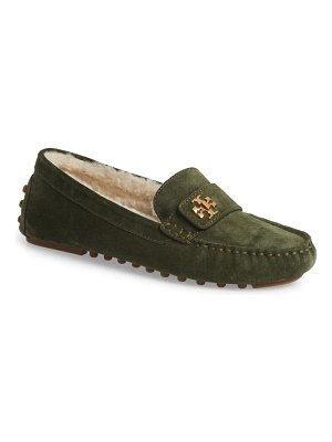 Tory Burch kira genuine shearling driving loafer