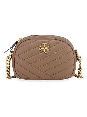 Tory Burch Kira Quilted Leather XS Crossbody Bag