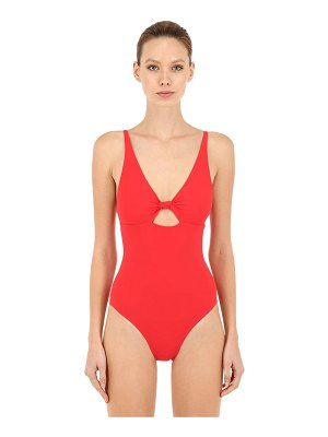 Tory Burch Knot front one piece swimsuit w/ cutout