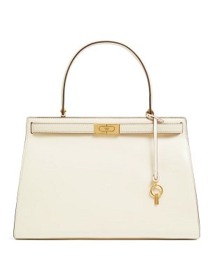 Tory Burch large lee radziwill leather bag