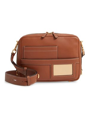 Tory Burch leather camera bag
