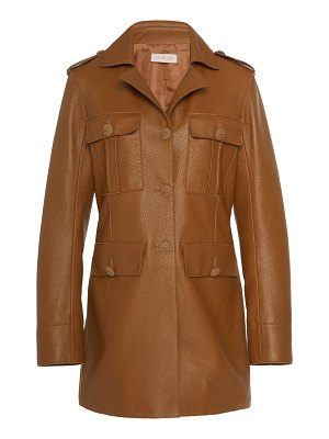 Tory Burch leather pepper jacket