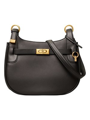Tory Burch lee radziwill leather saddle bag