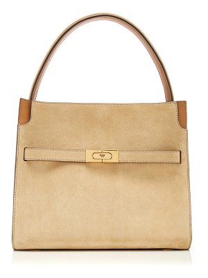 Tory Burch lee radziwill small leather double bag