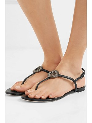 Tory Burch liana crystal-embellished leather sandals