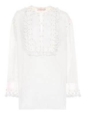 Tory Burch Lizzie cotton tunic top