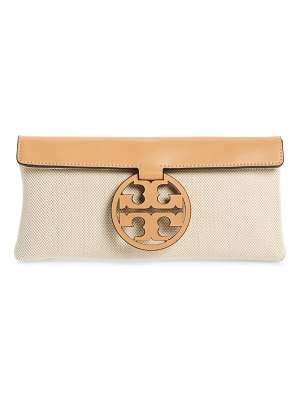 Tory Burch miller canvas clutch