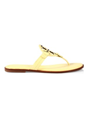 Tory Burch miller leather thong sandals
