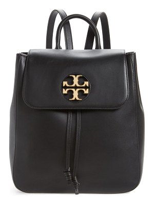 Tory Burch miller logo leather backpack