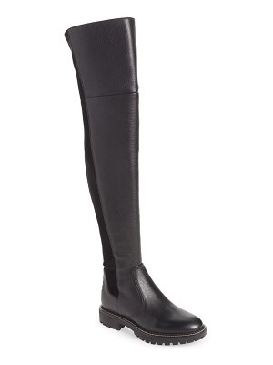 Tory Burch miller lug sole over the knee boot