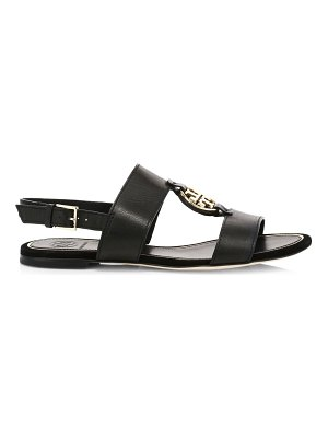 Tory Burch miller metal leather slingback sandals