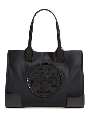 Tory Burch mini ella patent nylon tote