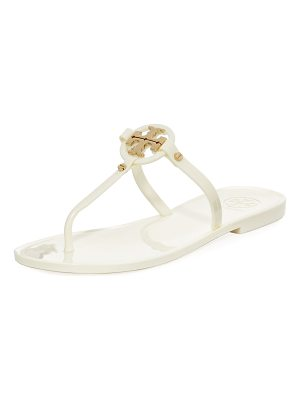 Tory Burch Mini Miller Flat Leather Thong Sandal