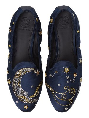 Tory Burch olympia embellished loafer flat