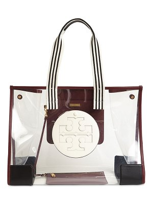 Tory Burch Oversized ella pvc & leather tote bag