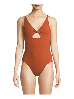 Tory Burch palma one-piece cut-out swimsuit