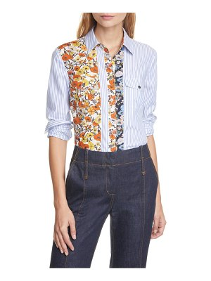 Tory Burch patchwork printed shirt