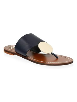 Tory Burch patos disc leather sandals
