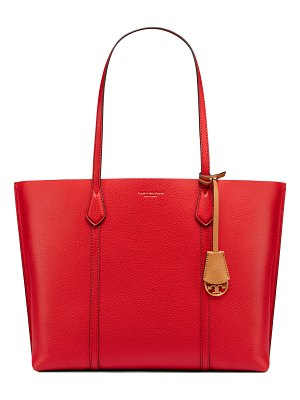 Tory Burch perry leather laptop tote