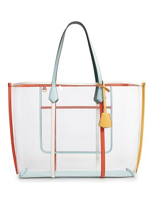 Tory Burch perry transparent tote