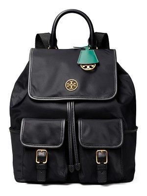 Tory Burch piper flap nylon backpack