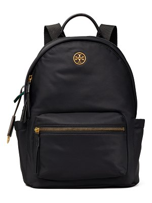 Tory Burch Piper Nylon Logo Zip Backpack
