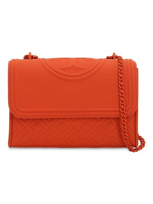 Tory Burch Pvc & leather shoulder bag