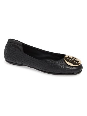 Tory Burch quilted minnie flat