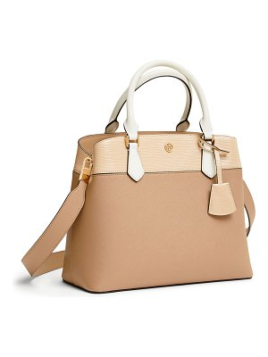 Tory Burch Robinson Colorblock Leather Tote Bag