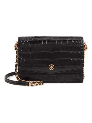 Tory Burch robinson embossed leather shoulder bag