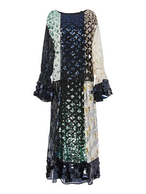 Tory Burch sequin-embellished maxi dress