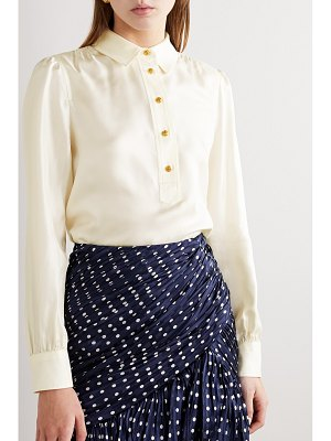 Tory Burch silk-satin twill blouse