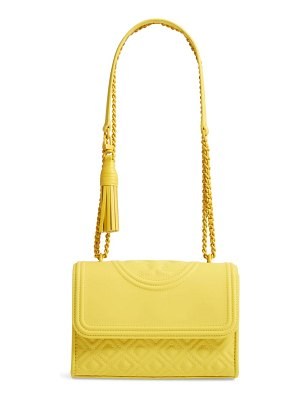Tory Burch small fleming matte quilted shoulder bag