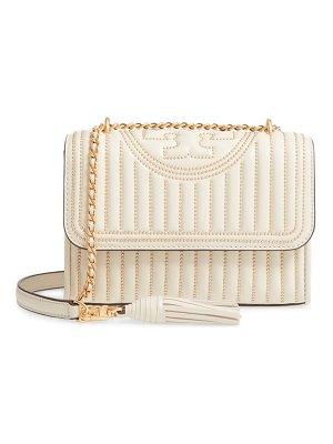 Tory Burch small fleming studded leather convertible shoulder bag